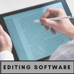 Editing tools for authors banner