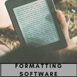 Formatting Software for authors banner