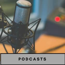 podcasts for writers banners