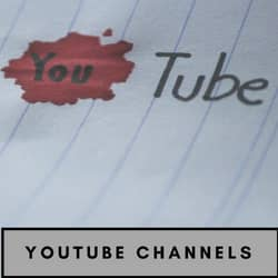 Recommended Youtube Channels for Writers